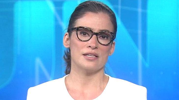 Renata Vasconcellos, apresentadora do Jornal Nacional
