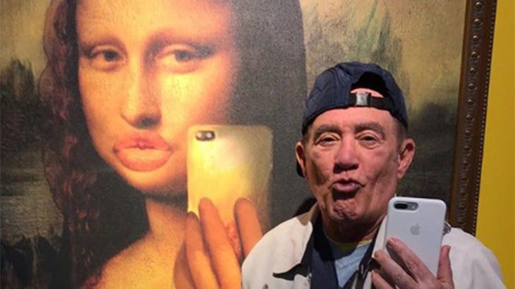 Renato Aragão tem 83 anos e virou sucesso na internet - Reprodução/Instagram