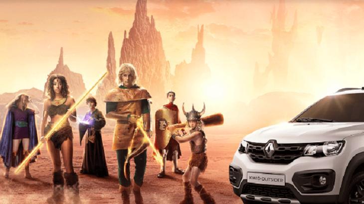 Renault fez homenagem ao desenho