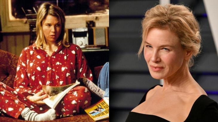 Renée Zellwege antes e depois