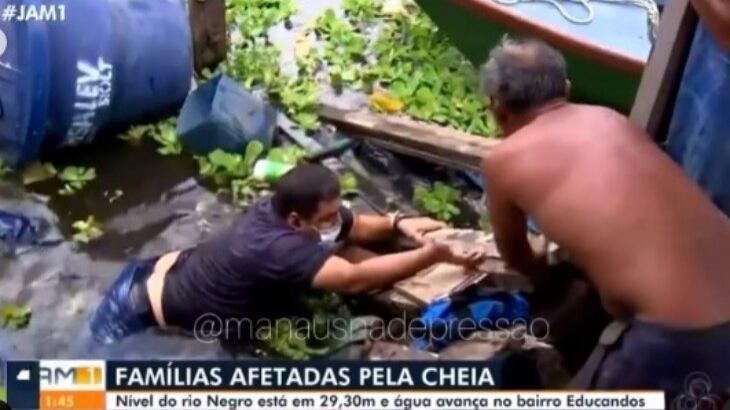 Funcionário da Globo tenta sair do Rio