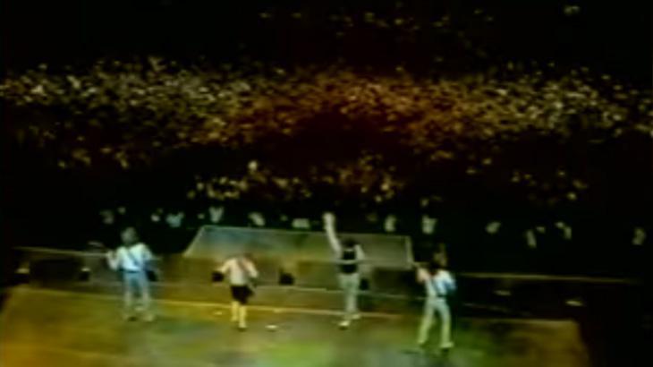 """Primeira edição do \""""Rock in Rio\"""" teve exibição em horário nobre, mas sem shows ao vivo"""