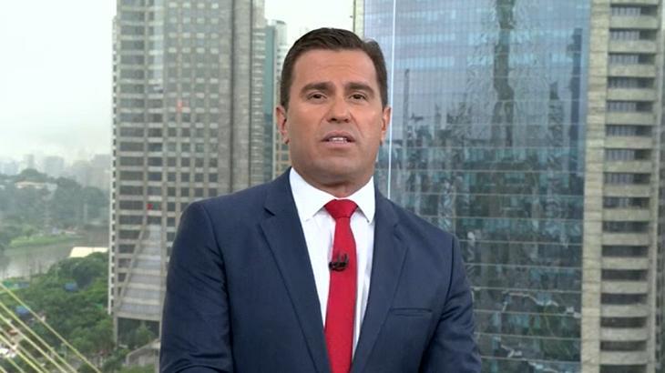 Rodrigo Bocardi apresenta o Bom Dia SP - Foto: Reprodução/Globo