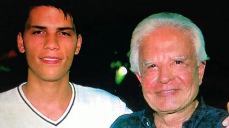 Roger e Cid Moreira lado a lado