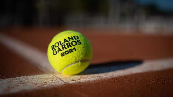Divulgação do campeonato Roland Garros 2021