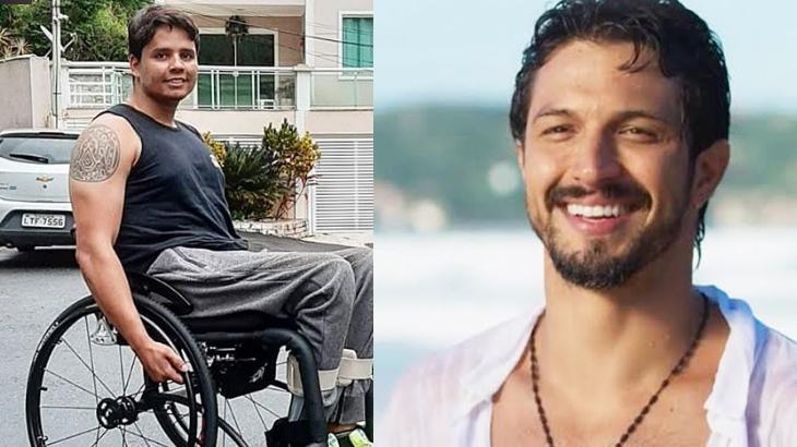 Romulo Estrela presenteia colega de Bom Sucesso com cadeira de rodas: