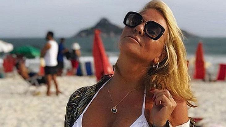 Mãe de Isis Valverde causa rebuliço na internet ao postar foto sensual