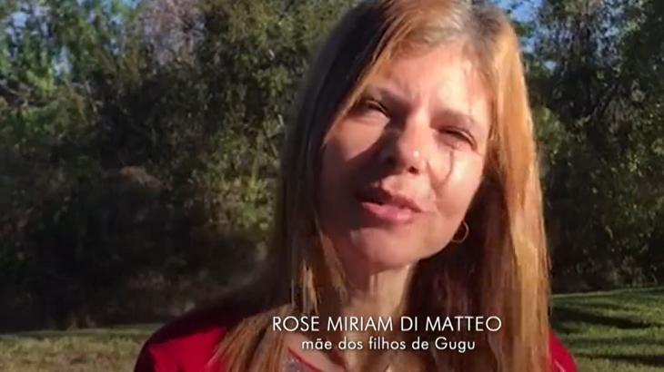 Viúva de Gugu Liberato falou com exclusividade ao Fantástico - Foto: Reprodução/Globoplay