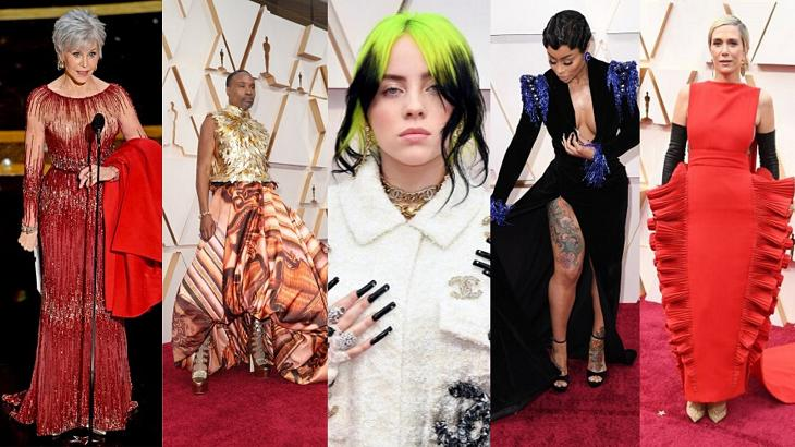 De Billie Eilish a Jane Fonda: as roupas mais extravagantes do Oscar 2020