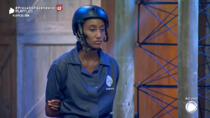 Sabrina Paiva sofreu suposto racismo dentro do reality show A Fazenda 2019. (Reprodução)