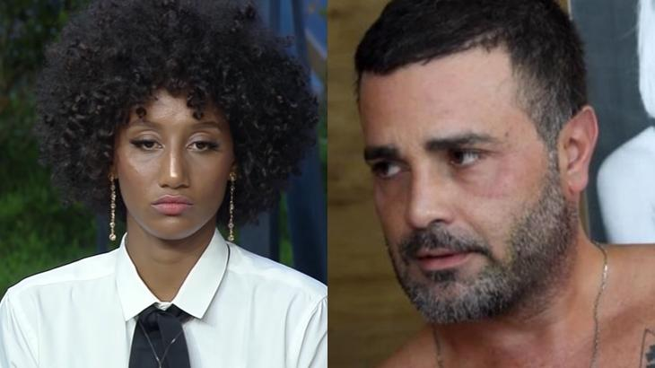 Sabrina Paiva e Rodrigo Phavanello iniciaram um romance dentro do reality show A Fazenda 2019 (Reprodução/Montagem)