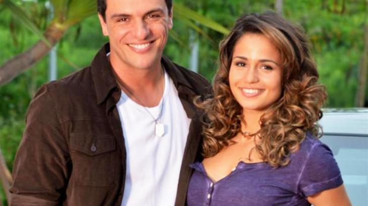 Rodrigo Lombardi e Nanda Costa estrelaram