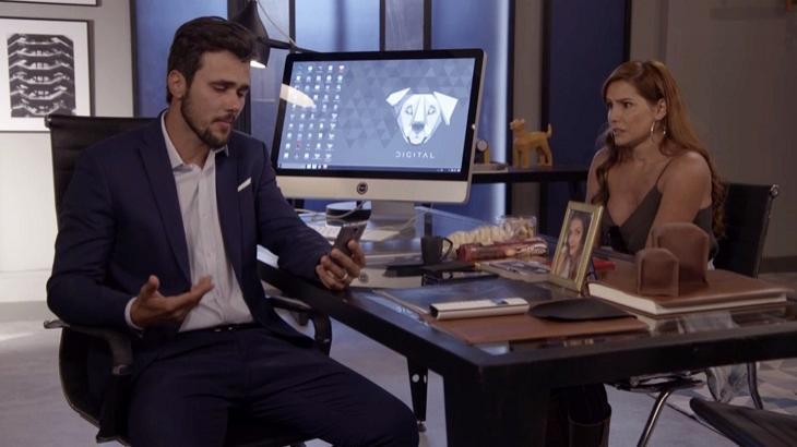 Alexia conversará com Rafael - Foto: Divulgação/Globo