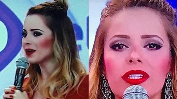 """Sandy sobre foto polêmica com excesso de maquiagem: """"foi editada"""""""