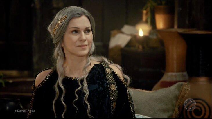 Sara sorrindo em Gênesis
