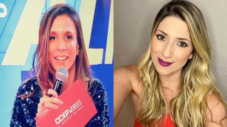 Sarah Oliveira homenageia Dani Calabresa em painel na CCXP - Foto: Montagem/Reprodução/Instagram