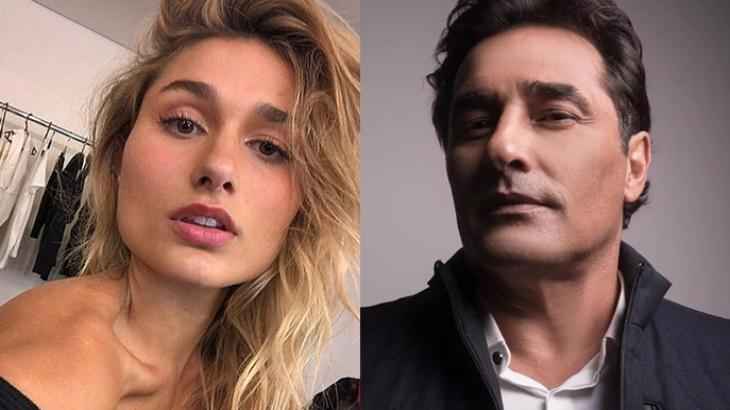 Sasha Meneghel e Luciano Szafir