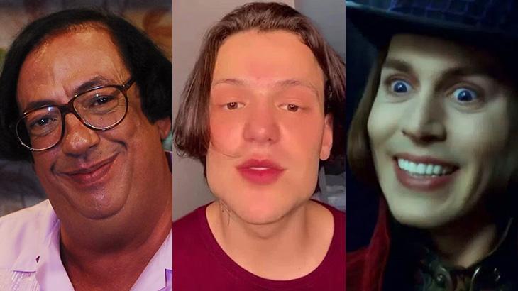 Saulo Poncio é comparado a Beiçola e Willy Wonka nas redes sociais