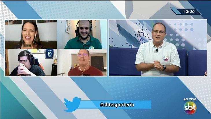 Benjamin Back no SBT Esporte Rio