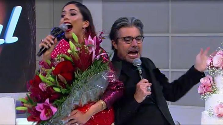 João Kléber e Daniela Albuquerque no