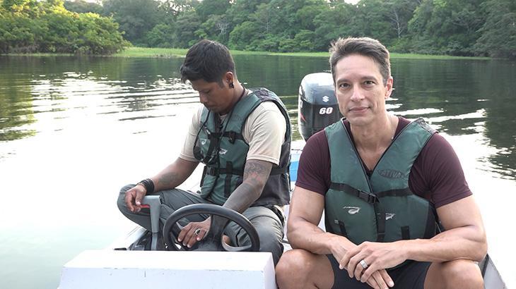 Sérgio Aguiar estreia na reportagem com série sobre a Amazônia na Record