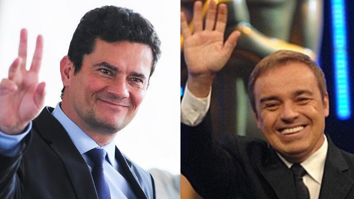 Gugu surpreende e apoia manifestação em favor de Sérgio Moro
