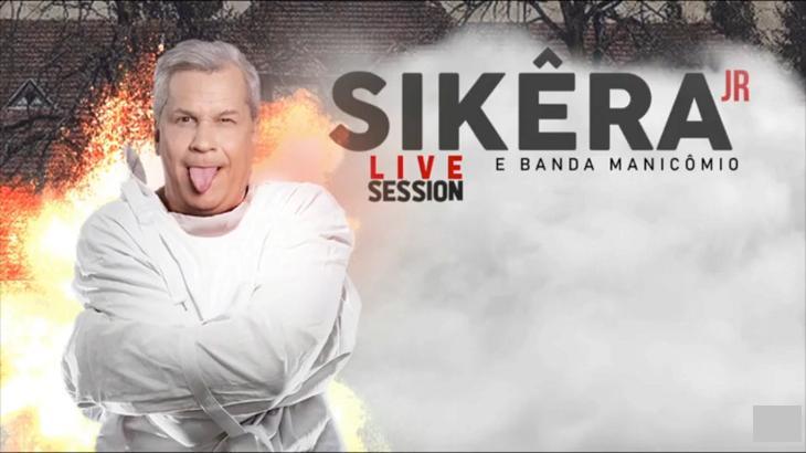 Sikêra Jr fez live neste sábado (30) - Foto: Divulgação/YouTube