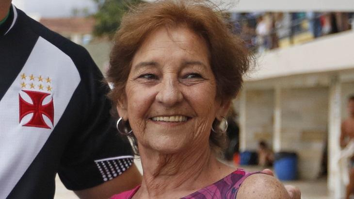 Silina Braga recebeu homenagem do Vasco da Gama em 2018