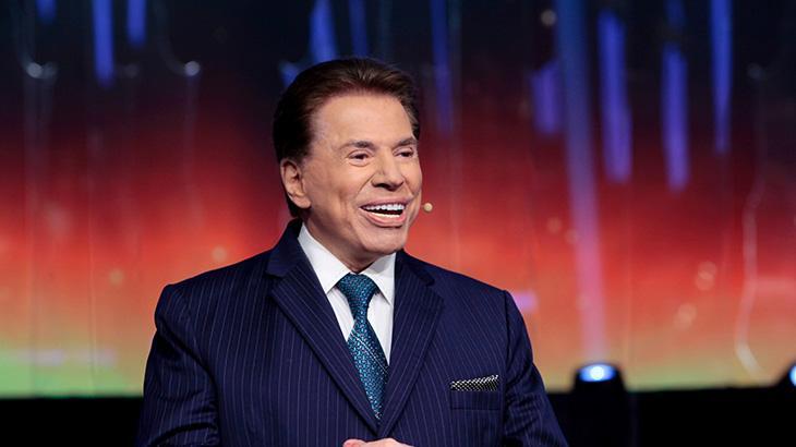 Silvio Santos em uma das edições do Troféu Imprensa