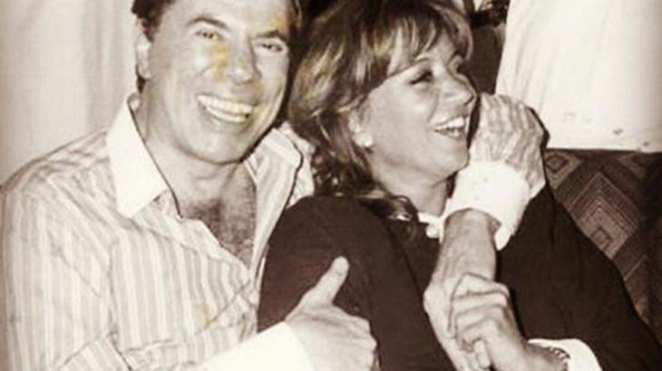 Silvio Santos e Iris Abravanel