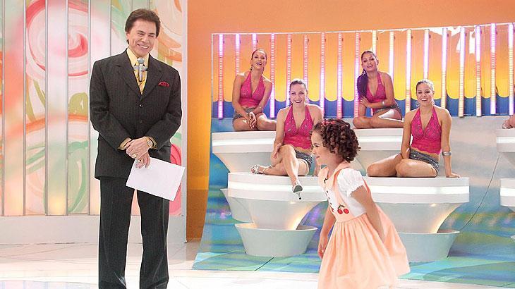 Silvio Santos com sua amada Maisa