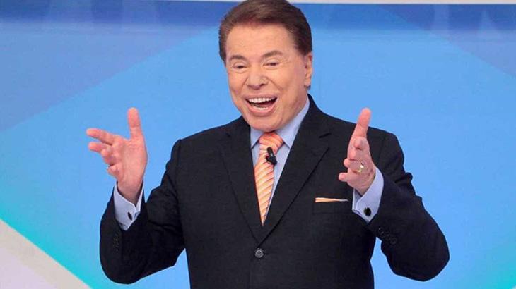 Silvio Santos sorrindo