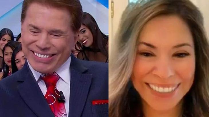 Filtro da internet transformou Silvio Santos numa mulher - Foto: Reprodução/SBT