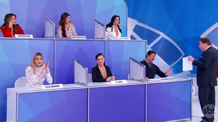 Silvio Santos sugere orgia com a presença de Patrícia Abravanel, que se assusta e deixa o palco