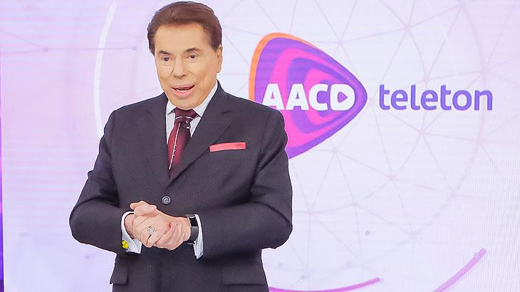 Sílvio Santos no Teleton 2018