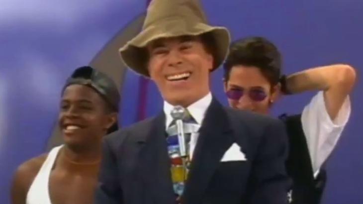 Silvio Santos em 1995 - Foto: Reprodução/SBT
