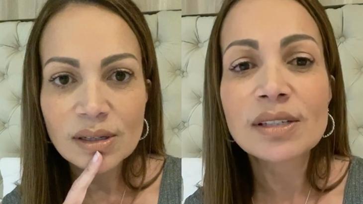 Após fim do casamento, Solange Almeida desabafa nas redes sociais