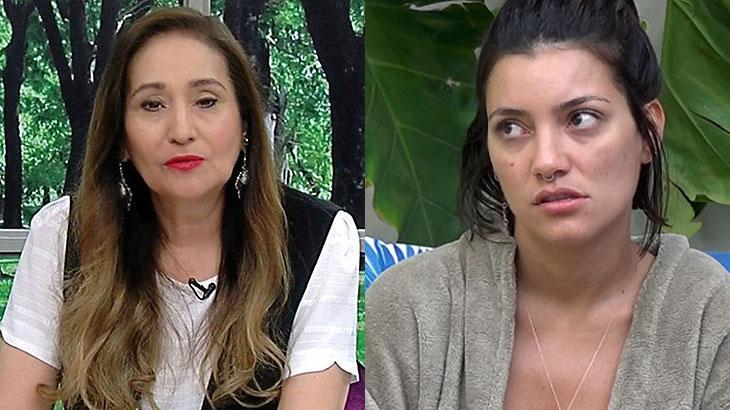 Sônia Abrão e Gabi