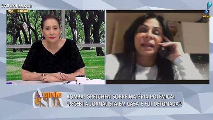 É guerra: Sônia Abrão derruba pauta do