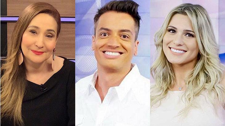 Sônia Abrão, Léo Dias e Lívia Andrade