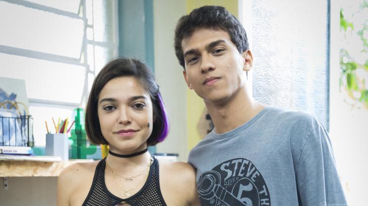 Vagner e Soninha, em
