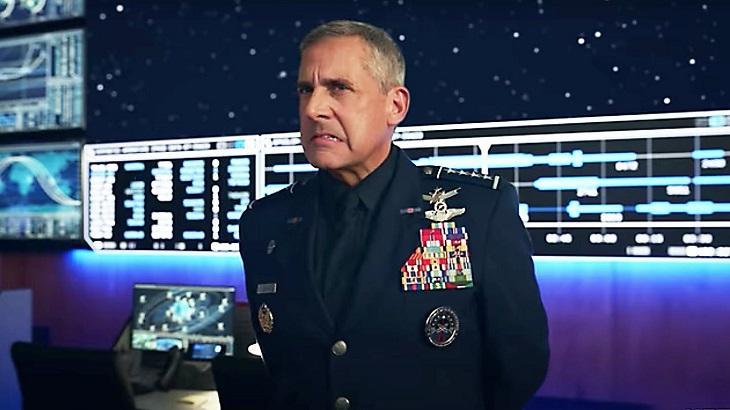Steve Carell é protagonista de Space Force - Foto: Reprodução/Netflix