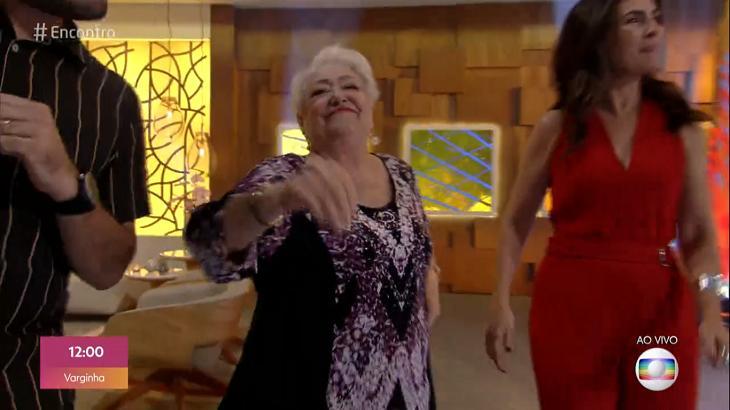 Suely Franco dançou no palco do