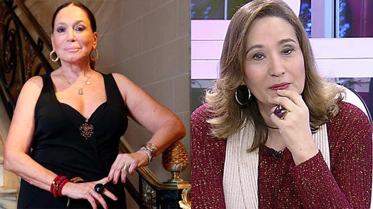 Susana Vieira chama Sonia Abrão de falsa e ela responde: