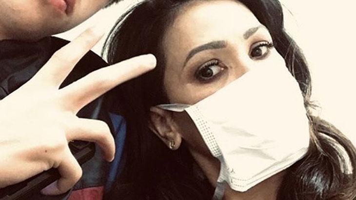 Suzana Alves está com a gripe H1n1 e alerta internautas
