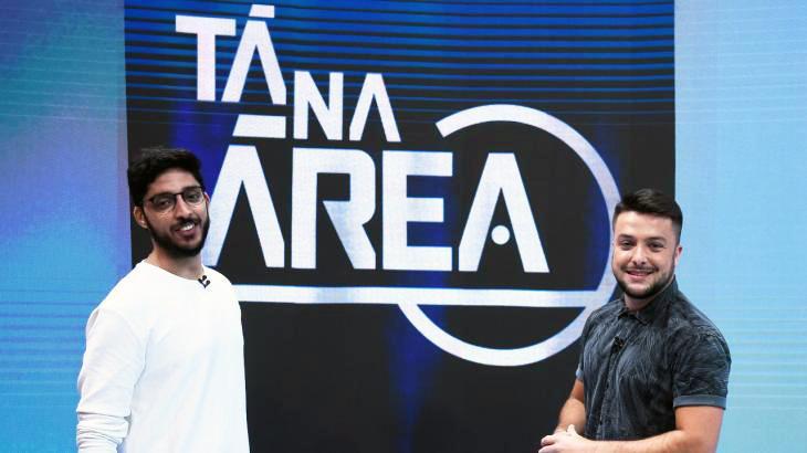 Os novos apresentadores do Tá na Área - Divulgação/SporTV