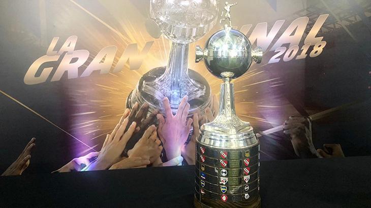A almejada Taça Libertadores