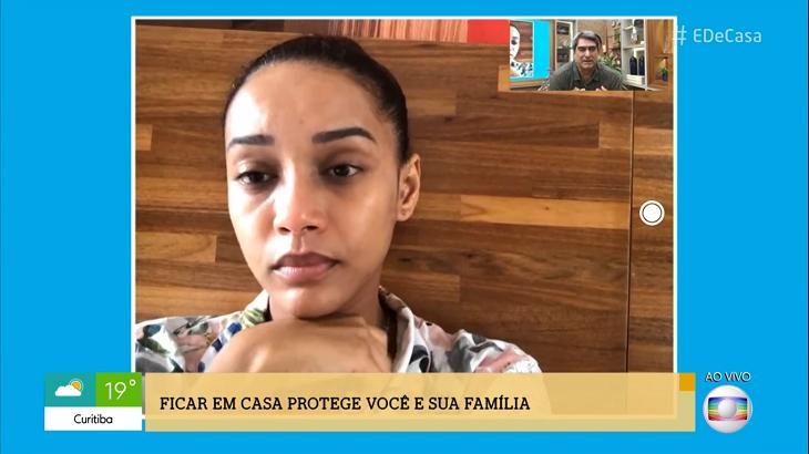 Taís Araújo comenta suspensão de Amor de Mãe: