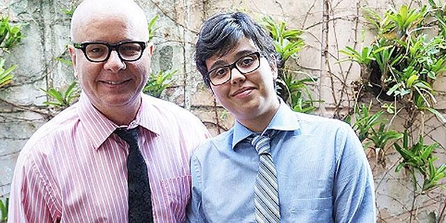 """Tas homenageia filho transgênero: """"Me ensina a viver com coragem e afeto"""""""