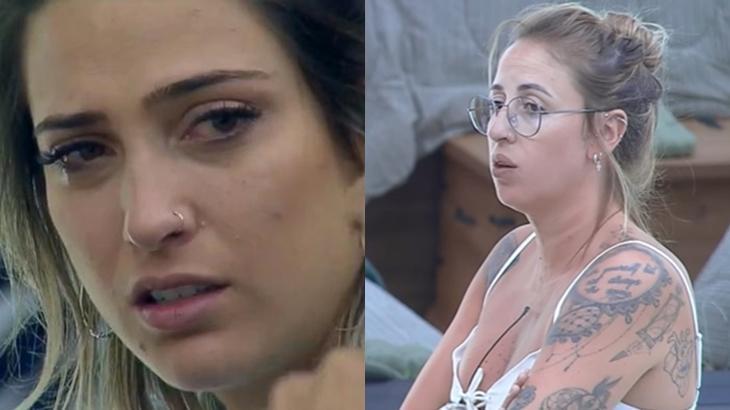 Tati Dias foi a 4ª eliminada do reality show A Fazenda 2019 (Reprodução/Montagem)
